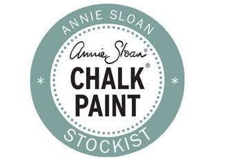 Annie Sloan - Stockist logos - Chalk Paint - Duck Egg Blue